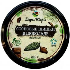 Сосновые шишки в шоколаде